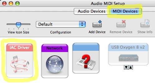 ef71abeb174 Step 2. Go to MIDI Devices and find the IAC Driver s icon. If you ve never  used it before