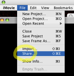 Nick Fox-Gieg's Tutorials » Exporting from iMovie