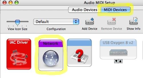 Nick Fox-Gieg's Tutorials » MIDI Over a Network (OS X)
