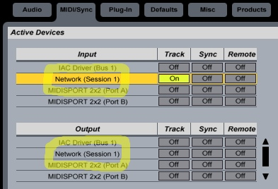 Nick Fox-Gieg's Tutorials » MIDI Over a Network (OS X)